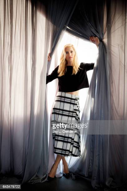 Actress Allison Williams is photographed for Los Angeles Times on February 9 2017 in Los Angeles California PUBLISHED IMAGE CREDIT MUST READ Jay L...