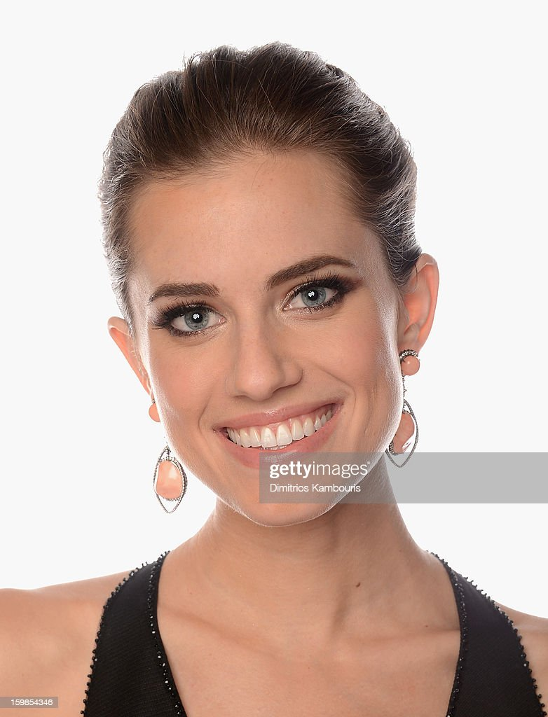 Actress Allison Williams of 'Girls' poses for a portrait at the 70th Annual Golden Globe Awards held at The Beverly Hilton Hotel on January 13, 2013 in Beverly Hills, California.