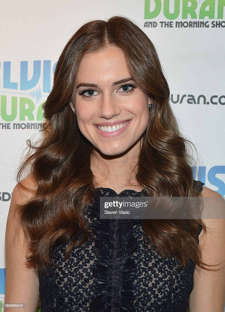 Actress Allison Williams visits the Elvis Duran Z100 Morning Show at Z100 Studio on March 12, 2013 in New York City.