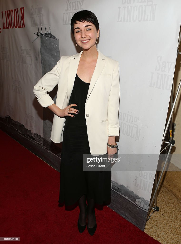Actress Ally Anderson attends the Pictures From The Fringe World Premiere of 'Saving Lincoln' at The Alex Theatre on February 13, 2013 in Glendale, California.
