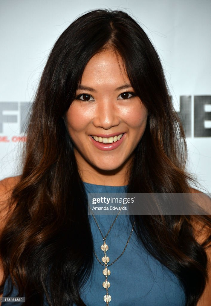 Actress <a gi-track='captionPersonalityLinkClicked' href=/galleries/search?phrase=Ally+Maki&family=editorial&specificpeople=2499490 ng-click='$event.stopPropagation()'>Ally Maki</a> arrives at the 31st Annual Outfest Los Angeles LGBT Film Festival screening of 'Geography Club' at Directors Guild Of America on July 14, 2013 in Los Angeles, California.