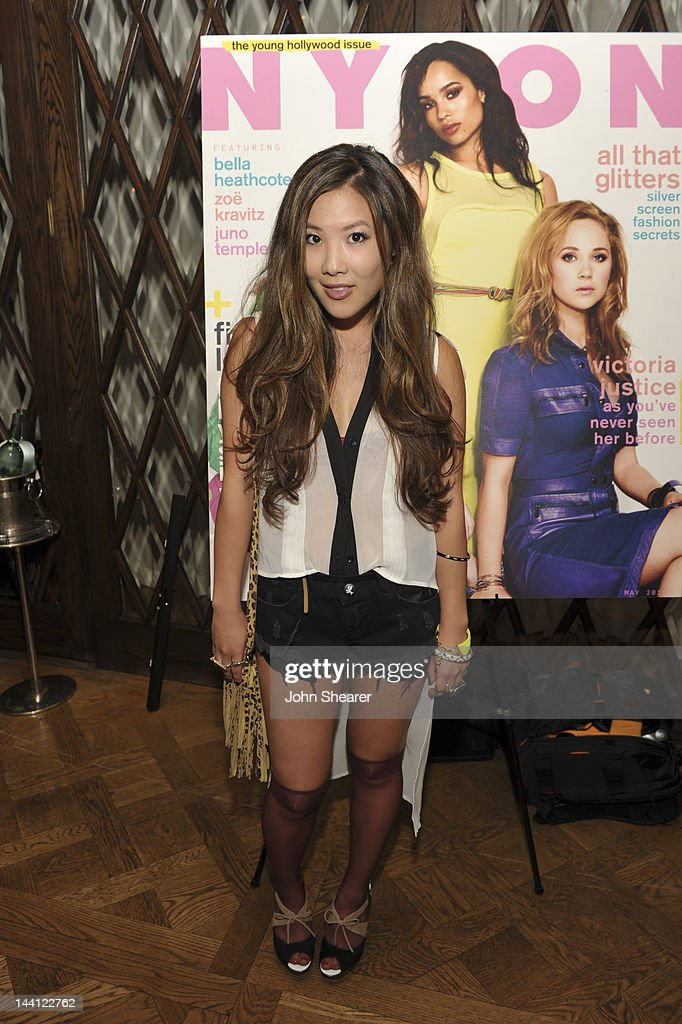 Actress Ally Maki attends NYLON Magazine And Tommy Girl Celebrate The Annual May Young Hollywood Issue - Dinner at Hollywood Roosevelt Hotel on May 9, 2012 in Hollywood, California.