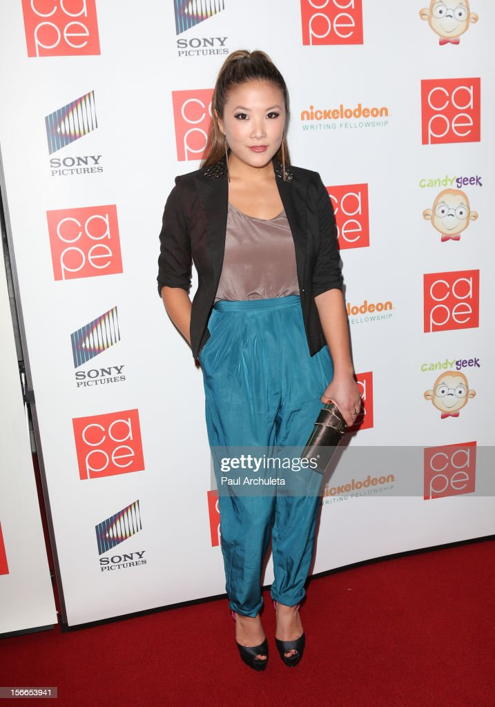 Actress Ally Maki attends the 2012 CAPE Holiday Fundraiser 'I Am...All In' at the W Hollywood on November 17, 2012 in Hollywood, California.