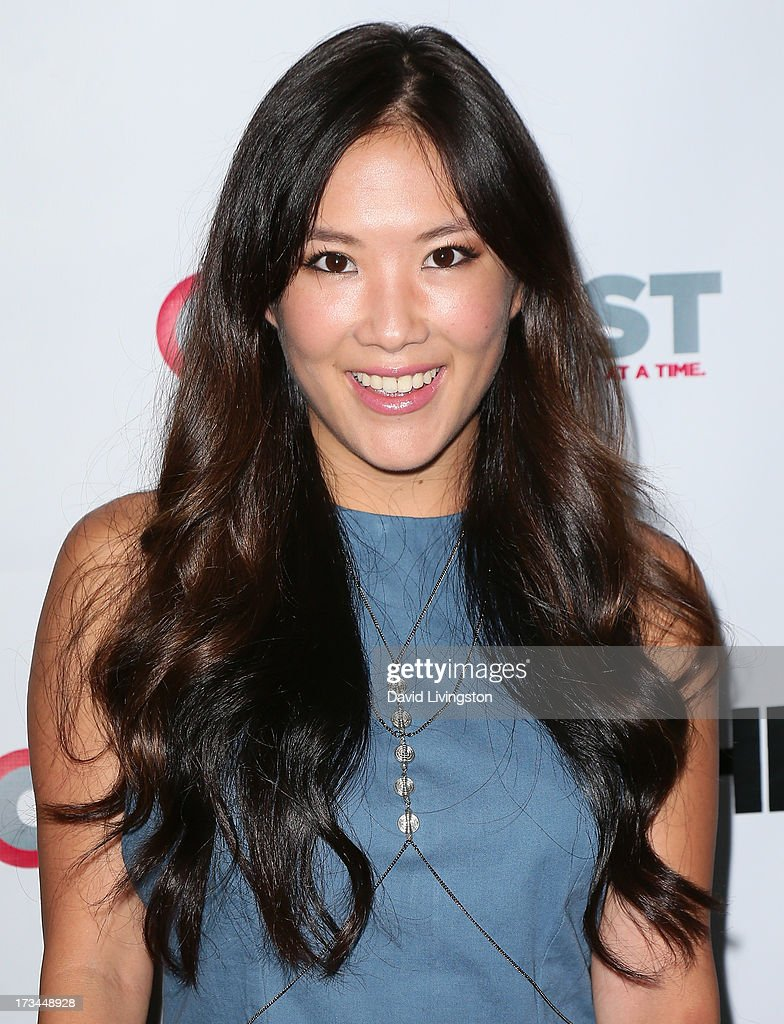 Actress <a gi-track='captionPersonalityLinkClicked' href=/galleries/search?phrase=Ally+Maki&family=editorial&specificpeople=2499490 ng-click='$event.stopPropagation()'>Ally Maki</a> attends the 2013 Outfest Film Festival 'Geography Club' screening at the Directors Guild Of America on July 14, 2013 in Los Angeles, California.