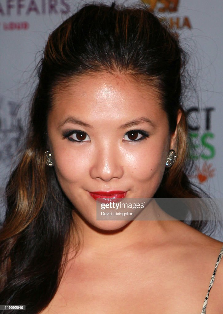 Actress <a gi-track='captionPersonalityLinkClicked' href=/galleries/search?phrase=Ally+Maki&family=editorial&specificpeople=2499490 ng-click='$event.stopPropagation()'>Ally Maki</a> attends the Somaly Mam Foundation's Project Futures Global Campaign launch event at SLS Hotel on July 23, 2011 in Beverly Hills, California.