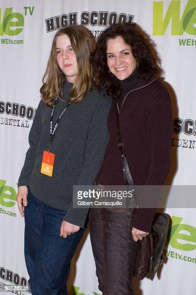 Actress Ally Sheedy and daughter...