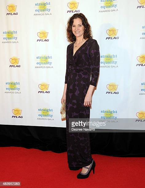 Actress Ally Sheedy attends the 6th annual PFLAG Straight For Equality Awards Gala at Marriott Marquis Times Square on April 10 2014 in New York City