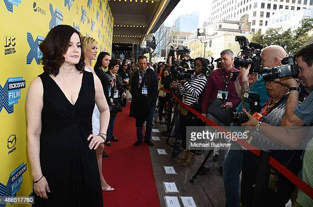 Actress Ally Sheedy attends 'The Breakfast Club' 30th Anniversary Restoration world premiere during the 2015 SXSW Music Film Interactive Festival at...