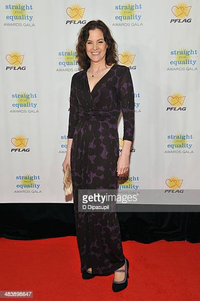 Actress Ally Sheedy attends the PFLAG National Straight For Equality Awards at Marriott Marquis Times Square on April 10 2014 in New York City