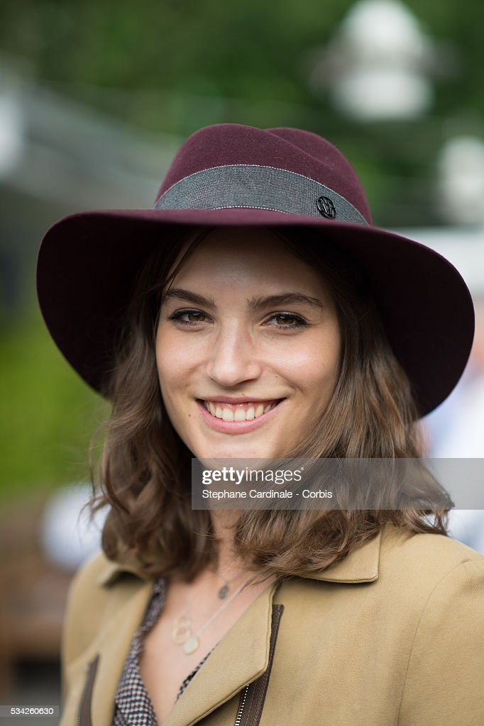 Actress Alma Jodorowsky attends day four of the 2016 French Open at Roland Garros on May 25, 2016 in Paris, France.