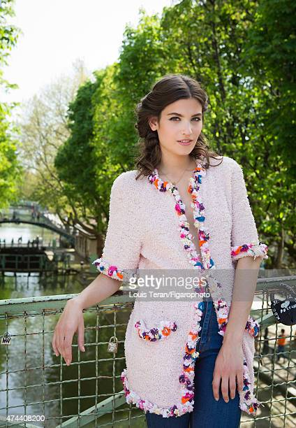 Actress Alma Jodorowsky is photographed for Madame Figaro on April 15 2015 in Paris France Clothing PUBLISHED IMAGE CREDIT MUST READ Louis...