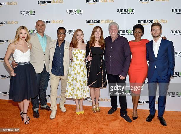 Actress Alona Tal Creator/executive producer Ben Watkins actors Andre Royo Elizabeth McLaughlin Dana Delany Ron Perlman Emayatzy Corinealdi and...