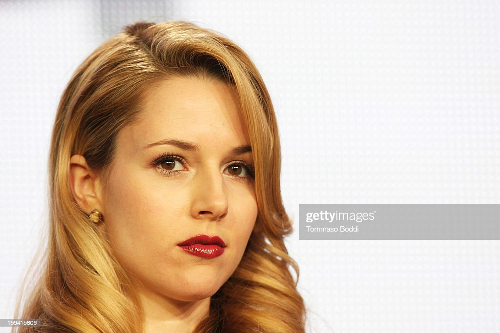 Actress Alona Tal of the TV show 'Cult' attends the 2013 TCA Winter Press Tour CW/CBS panel held at The Langham Huntington Hotel and Spa on January 13, 2013 in Pasadena, California.