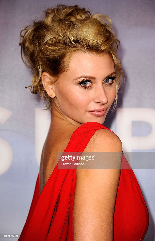 Actress Aly Michalka arrives at Paramount Pictures' 'Super 8' Blu-ray and DVD release party at AMPAS Samuel Goldwyn Theater on November 22, 2011 in Beverly Hills, California.