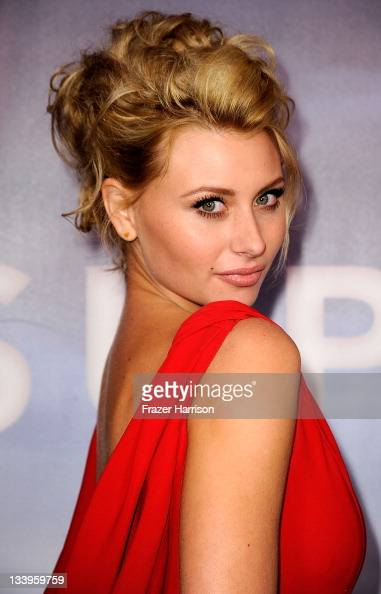 Actress Aly Michalka arrives at Paramount Pictures' 'Super 8' Bluray and DVD release party at AMPAS Samuel Goldwyn Theater on November 22 2011 in...