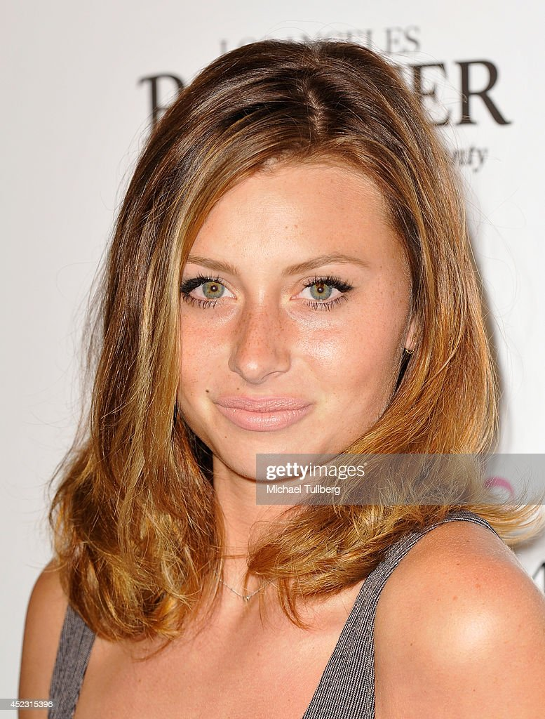 Actress Aly Michalka attends the Matt Leinart Foundation's 8th Annual Celebrity Bowl at Lucky Strike Bowling Alley on July 17, 2014 in Hollywood, California.
