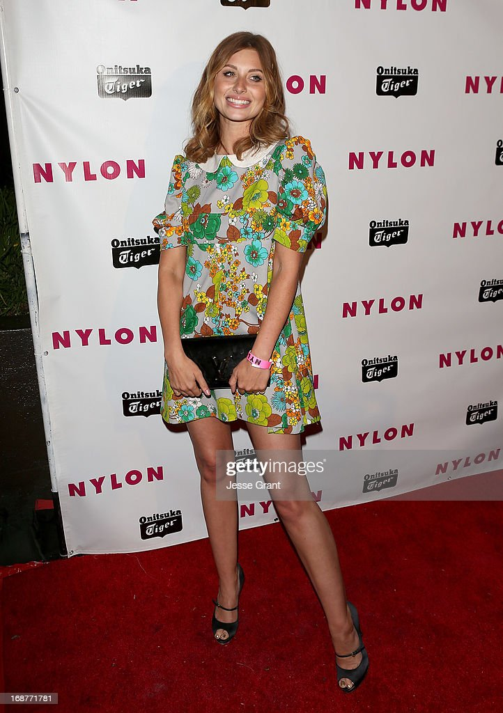 Actress Aly Michalka attends the NYLON Magazine Annual May Young Hollywood Issue Party at The Roosevelt Hotel on May 14, 2013 in Hollywood, California.