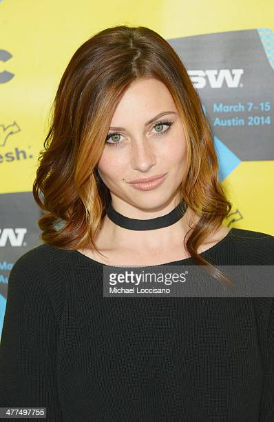 Actress Aly Michalka attends the 'Sequoia' premiere during the 2014 SXSW Music Film Interactive Festival at the Topfer Theatre at ZACH on March 9...