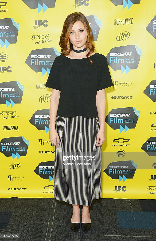 Actress Aly Michalka attends the 'Sequoia' premiere during the 2014 SXSW Music, Film + Interactive Festival at the Topfer Theatre at ZACH on March 9, 2014 in Austin, Texas.