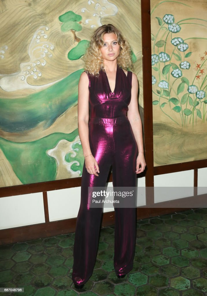 Actress Aly Michalka attends the Wolk Morais Collection 5 Fashion Show at Yamashiro Hollywood on May 22, 2017 in Los Angeles, California.