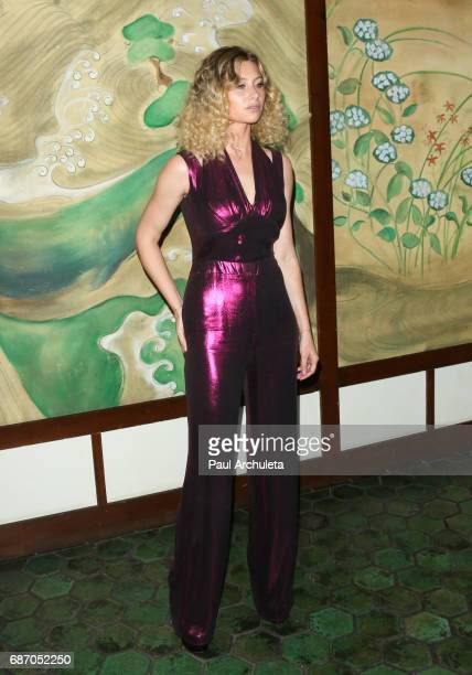 Actress Aly Michalka attends the Wolk Morais Collection 5 Fashion Show at Yamashiro Hollywood on May 22 2017 in Los Angeles California