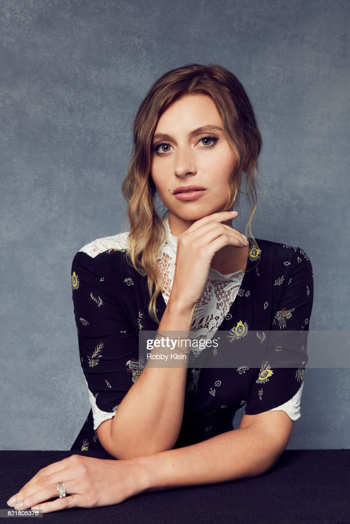 Actress Aly Michalka from CW's 'iZombie' poses for a portrait during Comic-Con 2017 at Hard Rock Hotel San Diego on July 21, 2017 in San Diego, California