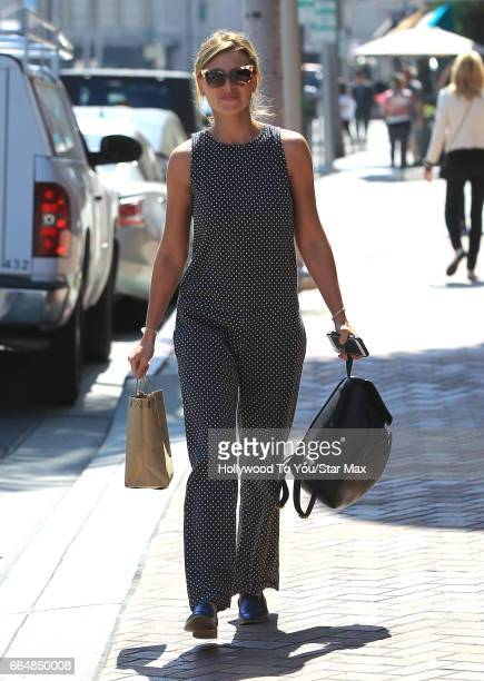Actress Aly Michalka is seen on April 4 2017 in Los Angeles California
