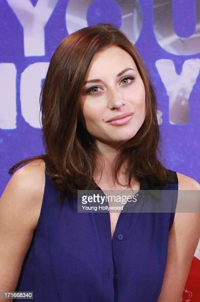 Actress Aly Michalka visits the Young Hollywood Studio on June 27 2013 in Los Angeles California