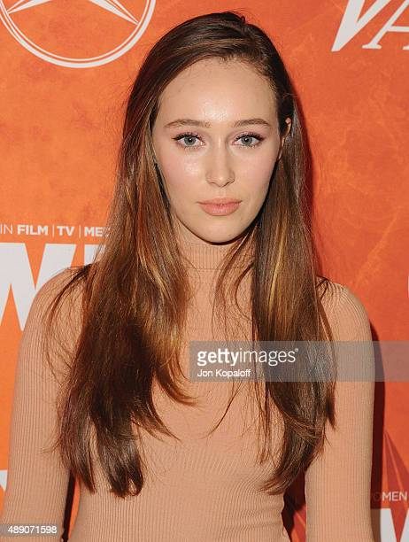 Actress Alycia Debnam Carey arrives at the Variety And Women In Film Annual PreEmmy Celebration at Gracias Madre on September 18 2015 in West...