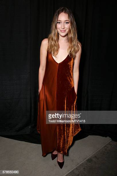 Actress Alycia Debnam Carey poses backstage at the MTV Fandom Awards San Diego at PETCO Park on July 21 2016 in San Diego California