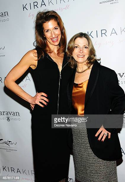 Actress Alysia Reiner and her mother Terry Berenson attend the 'Orange Is The New Black My Year In Women's Prison' charity book shopping experience...