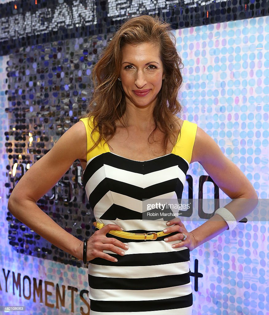 Actress <a gi-track='captionPersonalityLinkClicked' href=/galleries/search?phrase=Alysia+Reiner&family=editorial&specificpeople=655685 ng-click='$event.stopPropagation()'>Alysia Reiner</a> attends American Express #EveryDayMoments at Home Studios on April 2, 2014 in New York City.