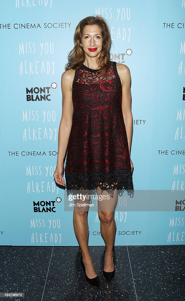 Actress Alysia Reiner attends Montblanc & The Cinema Society host a screening of Roadside Attractions & Lionsgate's New York premiere of 'Miss You Already' at Museum of Modern Art on October 25, 2015 in New York City.