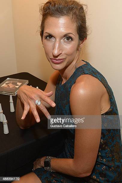 Actress Alysia Reiner attends PANDORA Jewelry X Nanette Lepore at New York Fashion Week on September 15 2015 in New York City
