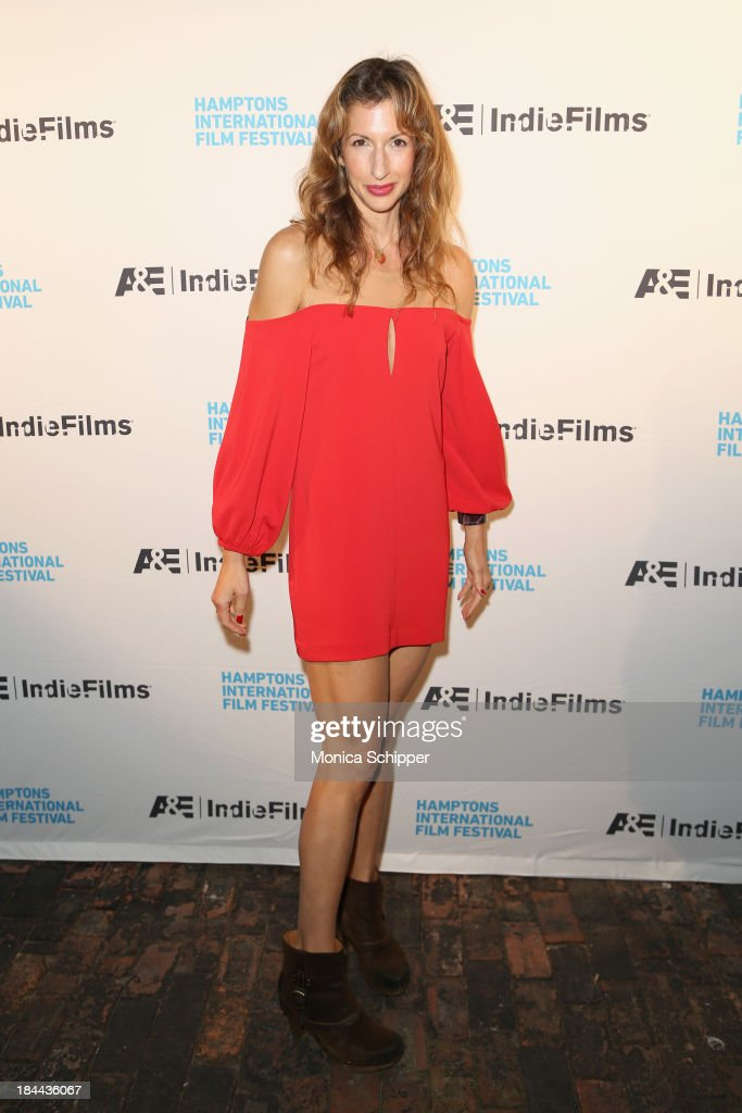 Actress Alysia Reiner attends the 21st Annual Hamptons International Film Festival on October 13, 2013 in East Hampton, New York.