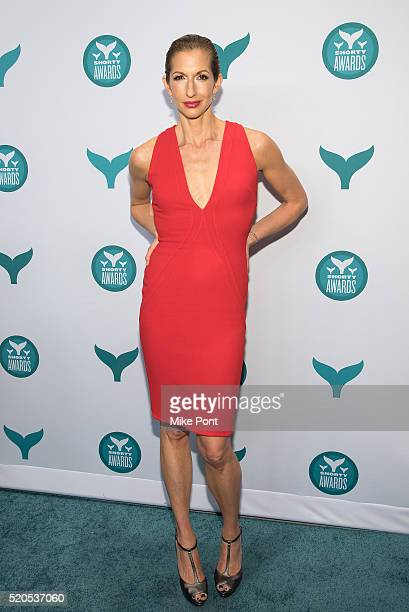 Actress Alysia Reiner attends the 8th Annual Shorty Awards at The New York Times Center on April 11 2016 in New York City