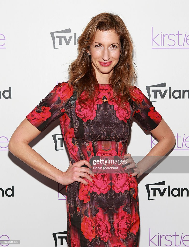 Actress <a gi-track='captionPersonalityLinkClicked' href=/galleries/search?phrase=Alysia+Reiner&family=editorial&specificpeople=655685 ng-click='$event.stopPropagation()'>Alysia Reiner</a> attends the 'Kirstie' premiere party at Harlow on December 3, 2013 in New York City.