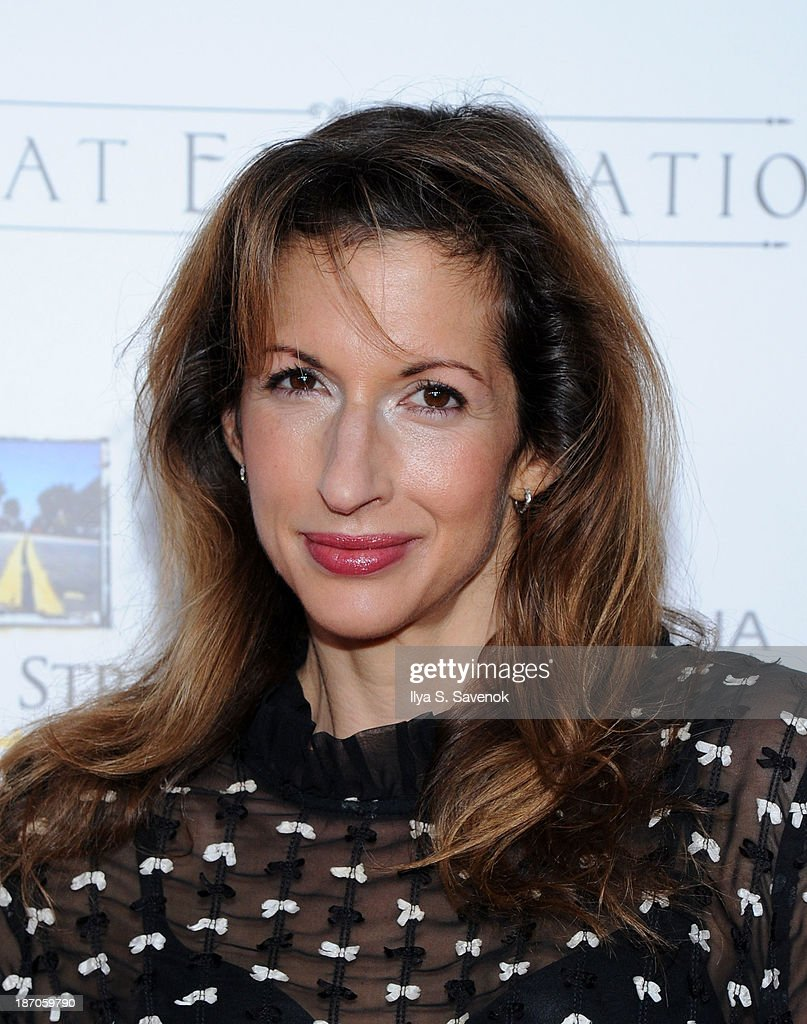 Actress <a gi-track='captionPersonalityLinkClicked' href=/galleries/search?phrase=Alysia+Reiner&family=editorial&specificpeople=655685 ng-click='$event.stopPropagation()'>Alysia Reiner</a> attends the New York premiere of 'Charles Dickens' Great Expectations' at AMC Loews Lincoln Square 13 theater on November 5, 2013 in New York City.