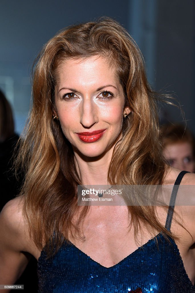 Actress Alysia Reiner Attends The Nicole Miller Fall 2016 Fashion Show