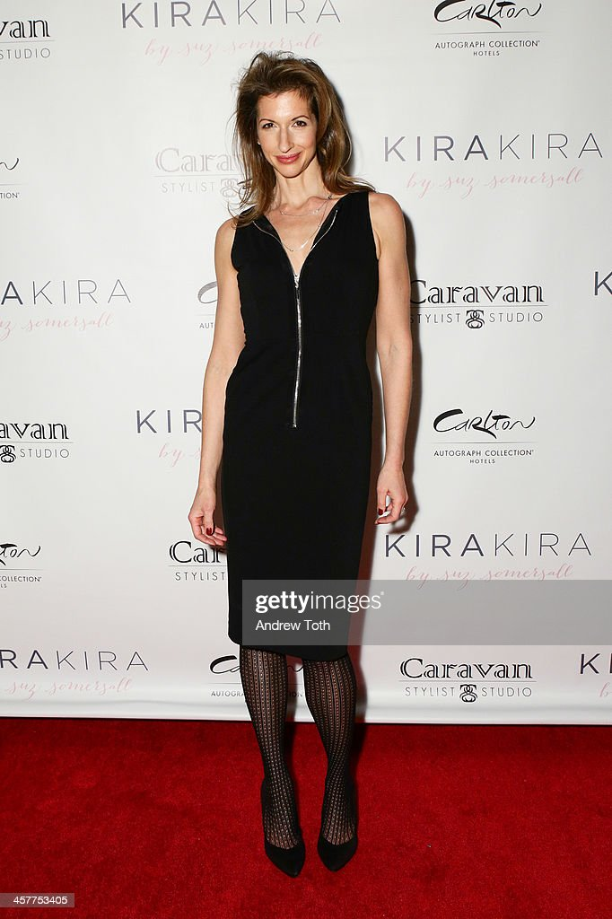 Actress <a gi-track='captionPersonalityLinkClicked' href=/galleries/search?phrase=Alysia+Reiner&family=editorial&specificpeople=655685 ng-click='$event.stopPropagation()'>Alysia Reiner</a> attends the 'Orange Is The New Black - My Year In Women's Prison' charity book shopping experience at Carlton Hotel on December 18, 2013 in New York City.