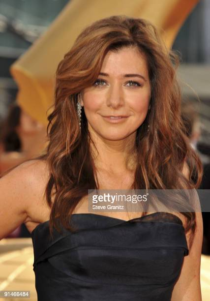 Actress Alyson Hannigan arrives at the 61st Primetime Emmy Awards held at the Nokia Theatre on September 20 2009 in Los Angeles California