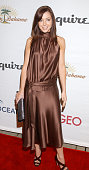 Actress Alyson Hannigan arrives for the Oceana 2006 Partners Award Gala held at Esquire House 360 in Beverly Hills