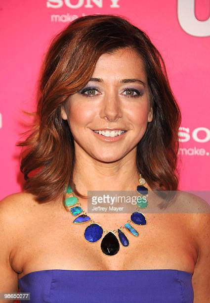 Actress Alyson Hannigan attends the Us Weekly Hot Hollywood Style Issue Event at Drai's Hollywood on April 22 2010 in Hollywood California