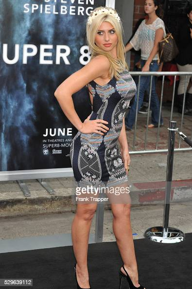 Actress Alyson Michalka arrives at the Premiere of Paramount Pictures' 'Super 8' held at the Regency Village Theater in Westwood
