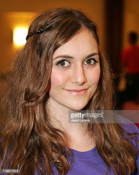 Actress Alyson Stoner attends A Sparkling Sundae at the Renaissance Montura Hotel on March 9 2008 in Los Angeles California