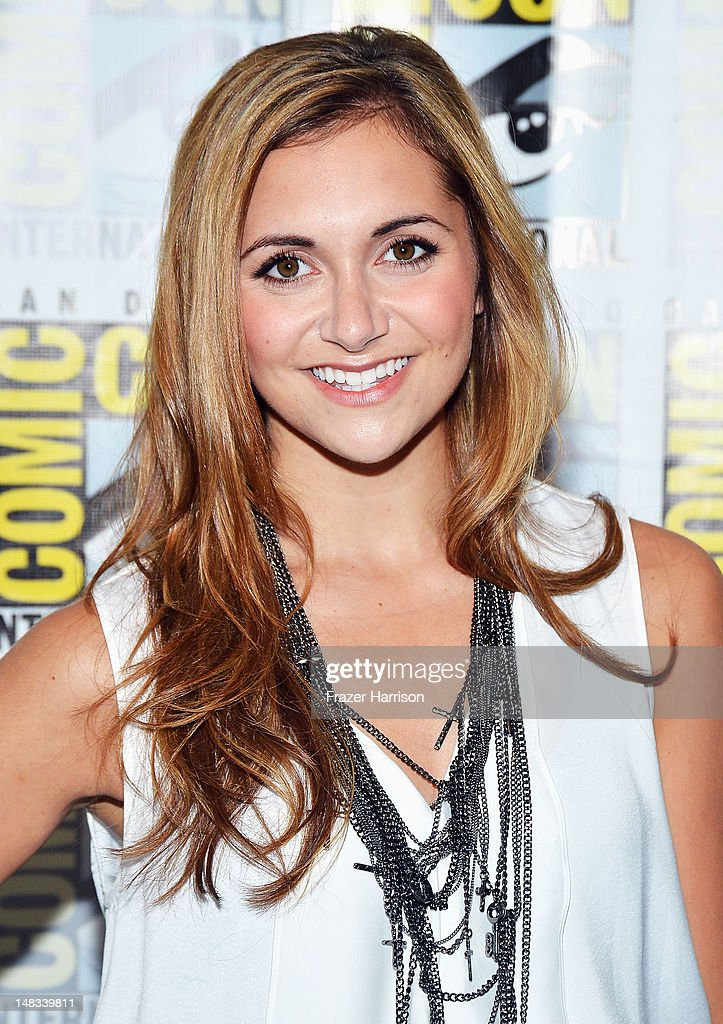Actress Alyson Stoner attends Disney's 'Phineas And Ferb' 'Gravity Falls' and 'Fish Hooks' Press Room during Comic-Con International 2012 at Hilton San Diego Bayfront Hotel on July 14, 2012 in San Diego, California.