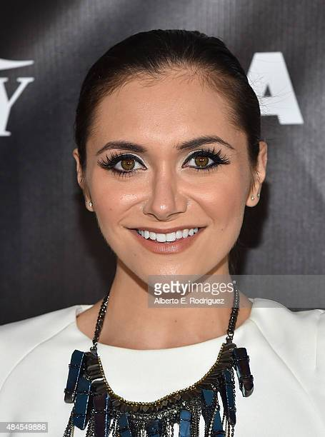 Actress Alyson Stoner attends the 2015 Industry Dance Awards and Cancer Benefit Show at Avalon on August 19 2015 in Hollywood California