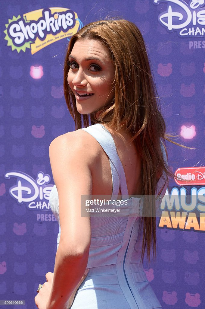Actress <a gi-track='captionPersonalityLinkClicked' href=/galleries/search?phrase=Alyson+Stoner&family=editorial&specificpeople=1423902 ng-click='$event.stopPropagation()'>Alyson Stoner</a> attends the 2016 Radio Disney Music Awards at Microsoft Theater on April 30, 2016 in Los Angeles, California.