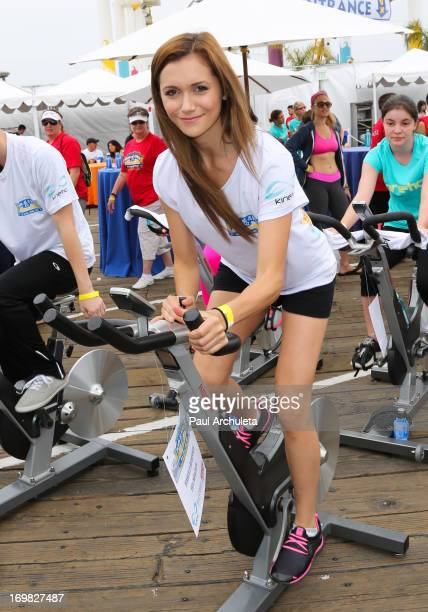 Actress Alyson Stoner attends the 2nd annual Pedal On The Pier benefiting the Harold Robinson Foundation at the Santa Monica Pier on June 2 2013 in...