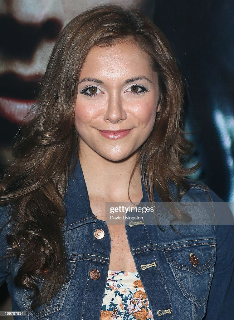 Actress <a gi-track='captionPersonalityLinkClicked' href=/galleries/search?phrase=Alyson+Stoner&family=editorial&specificpeople=1423902 ng-click='$event.stopPropagation()'>Alyson Stoner</a> attends the kickoff for Max Schneider's 'Nothing Without Love' summer tour at the Roxy Theatre on June 1, 2013 in West Hollywood, California.